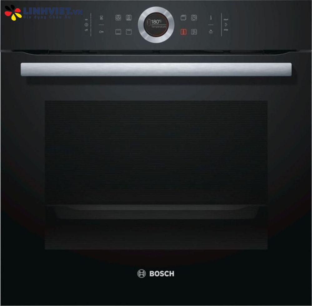 Lò nướng Bosch HBG634BB1 – Serie 8 – 71L – 4D hot air – EcoClean