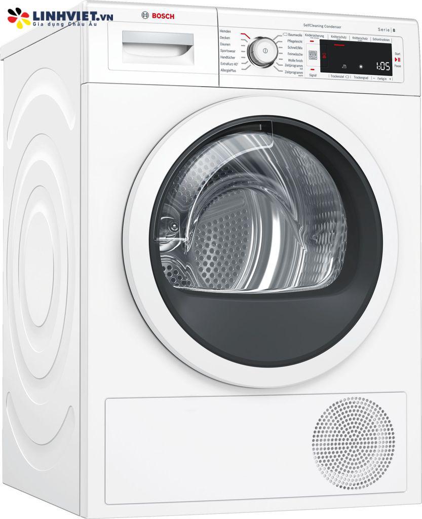 Máy sấy quần áo Bosch WTW87541 Serie 8