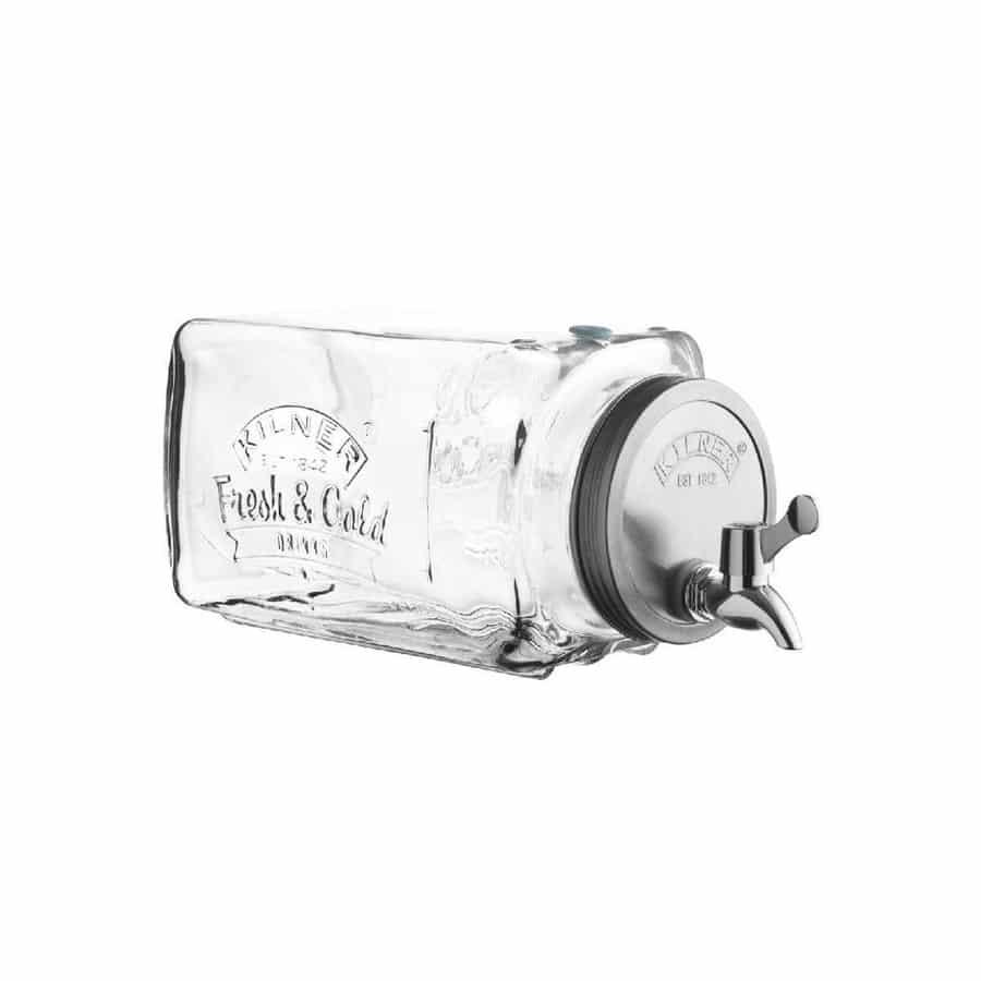 Kilner – Bình nước thủy tinh Fridge – 3L
