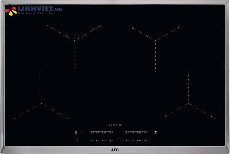Bếp từ AEG IKB84431XB | 4 vùng | 78cm