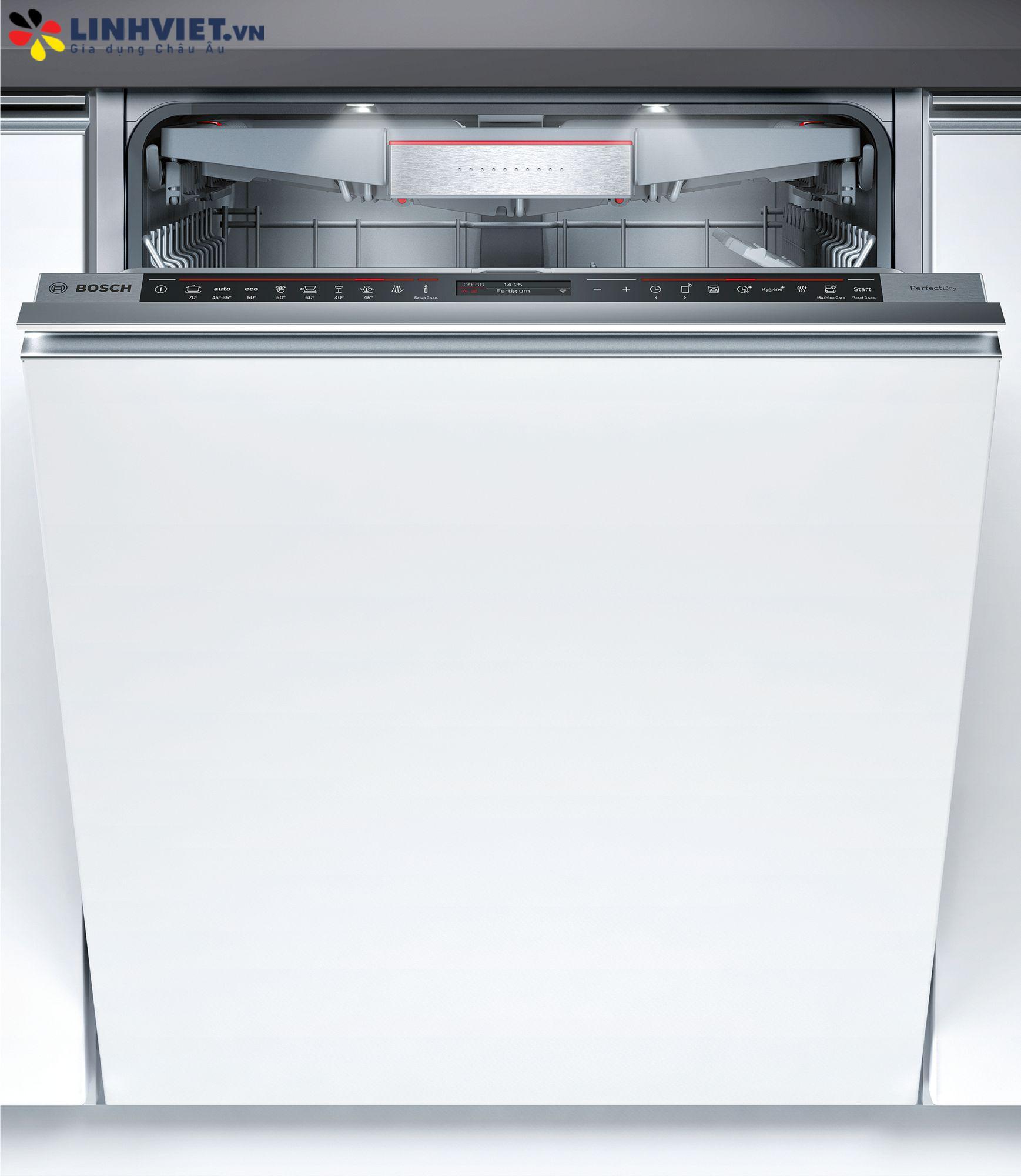 Máy rửa bát âm tủ Bosch SMV88TX36E | Serie 8