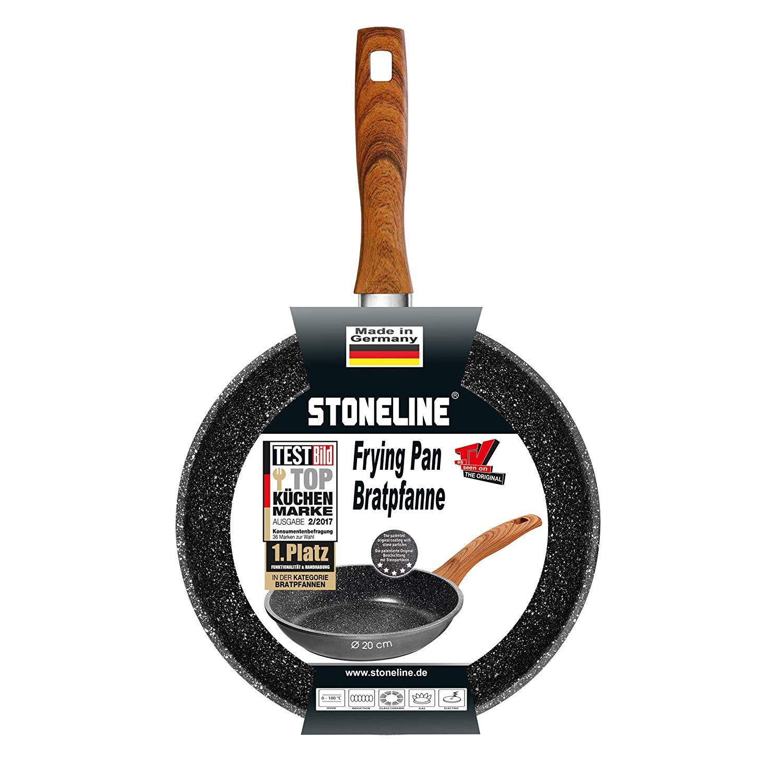 Chảo chống dính Stoneline – Vân gỗ – 20cm