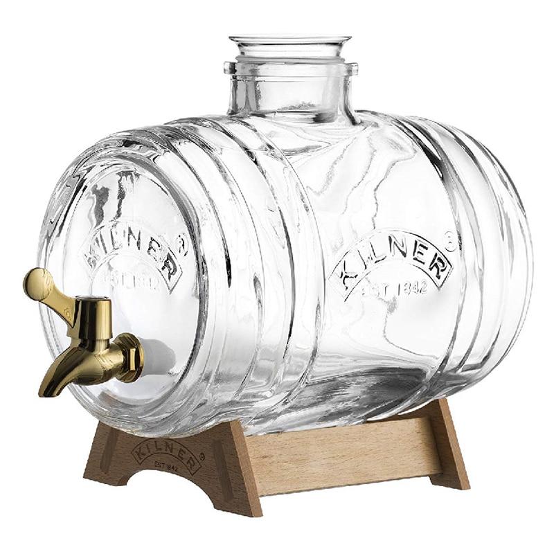 Kilner – Bình nước thủy tinh Barrel – 3.5L