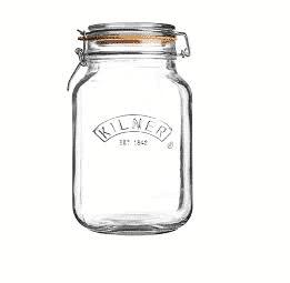 Combo Kilner – 3 Hũ thủy tinh vuông – 1.5L