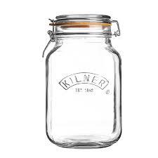 Combo Kilner – 3 Hũ thủy tinh vuông – 2L