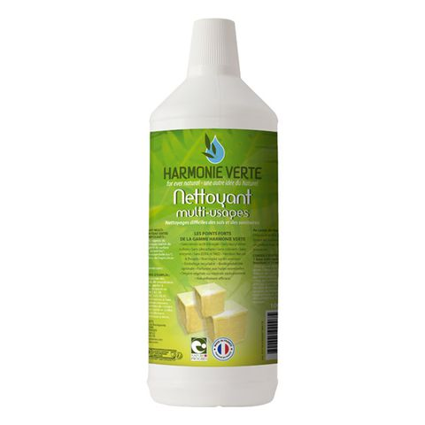 Tẩy rửa đa năng nhiều bề mặt hữu cơ Harmonie Verte 1L