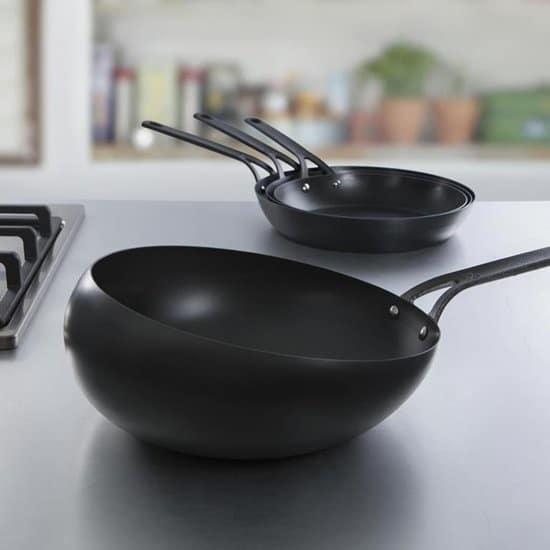 BK - Chảo wok thép carbon - 30cm