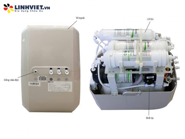 Máy lọc nước A. O. Smith AR75-A-S-1E