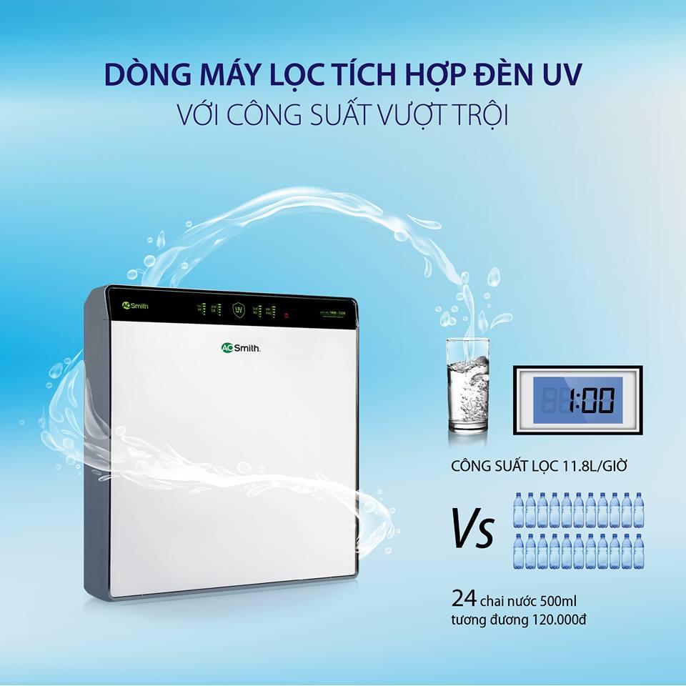Máy lọc nước A.O. Smith UV AR600-U3