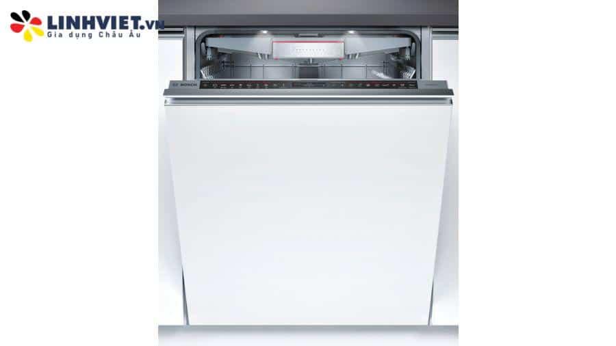 Máy rửa bát âm tủ Bosch SMV88UX36E | Serie 8 | Zeolith