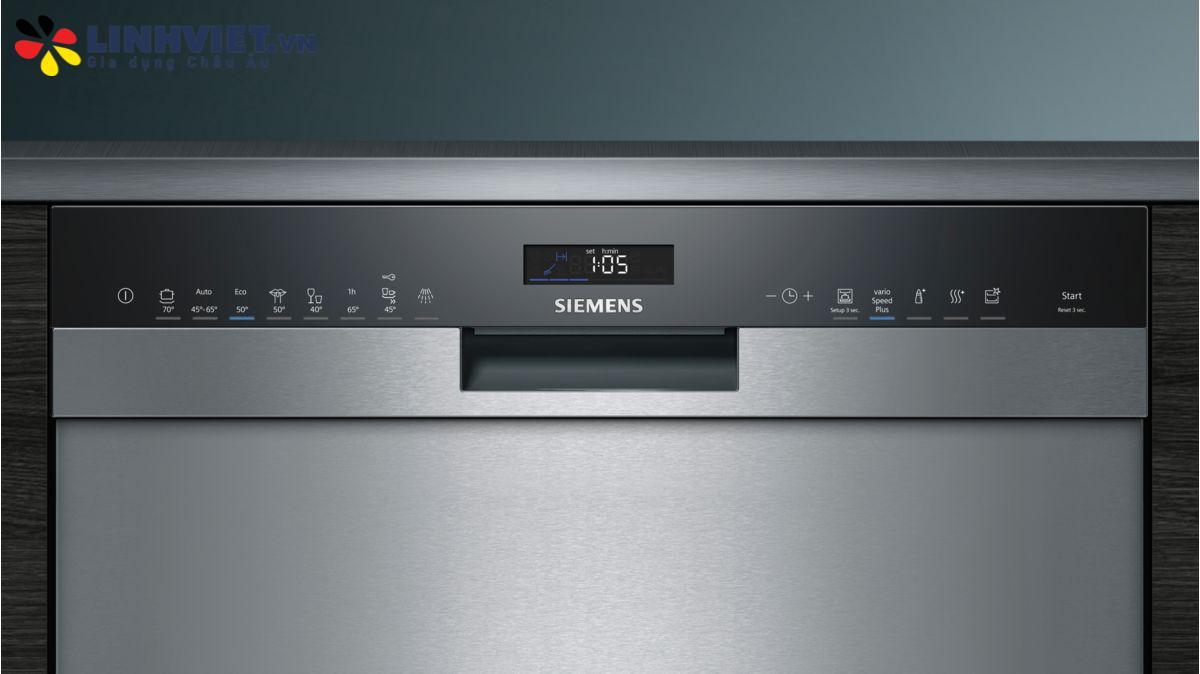 máy rửa bát Siemens iQ500 SN458S02ME