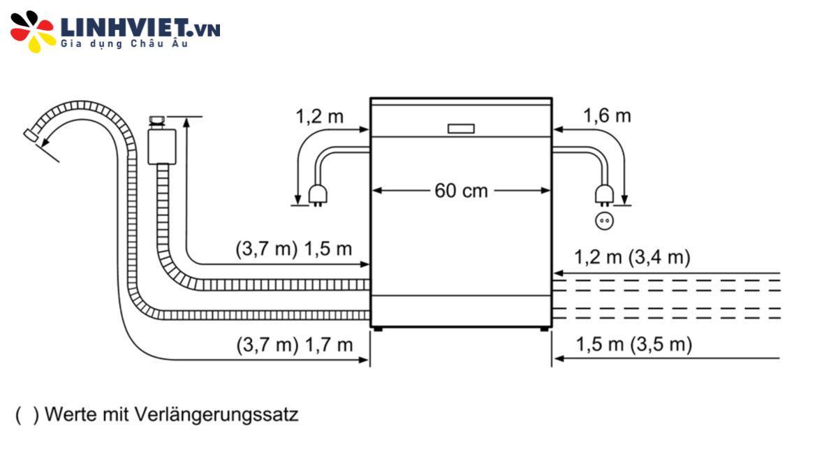 Máy rửa bát Siemens SN436S01KE iQ300
