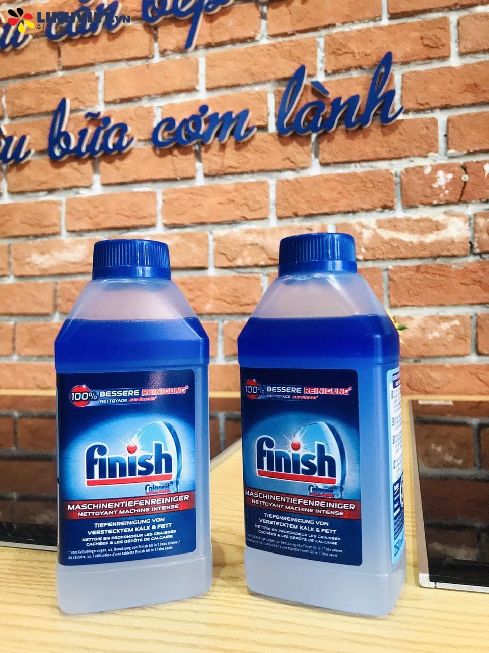 Dung dịch vệ sinh máy rửa bát Finish Maschinenpfleger 250 ml