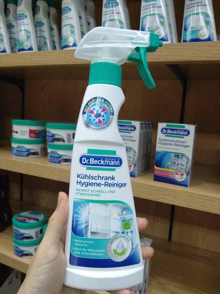 dung dịch vệ sinh tủ lạnh DR BECKMANN 250ml