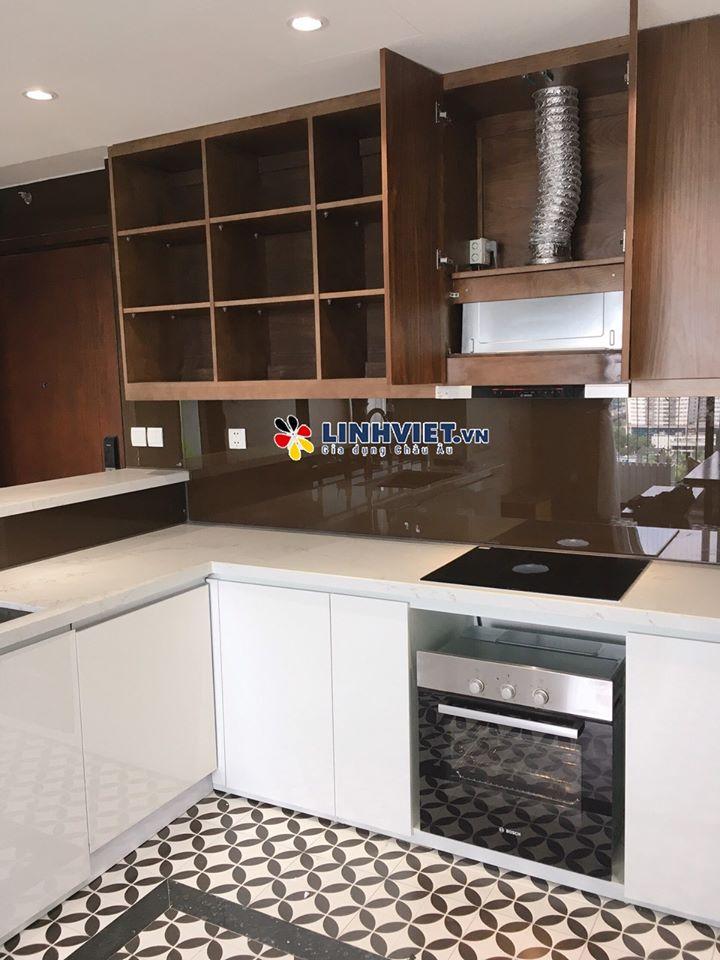 [Hình ảnh lắp đặt thực tế] Lò nướng Bosch tại nhà khách hàng