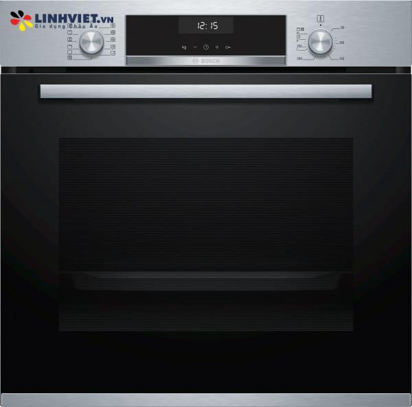 Lò nướng Bosch HBA5570S0B – Serie 6 – 71L – 3D hot air – EcoClean