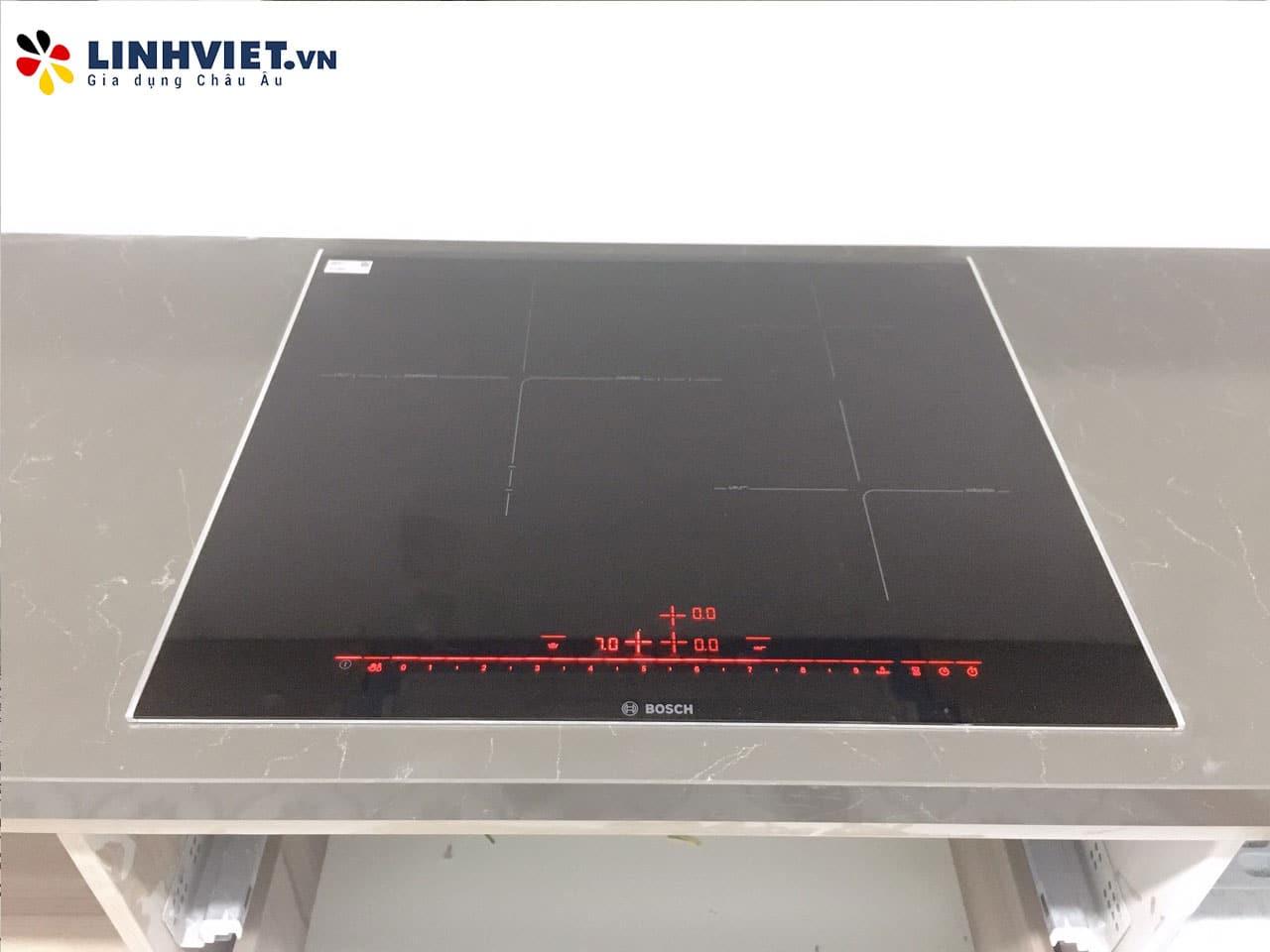 Hình ảnh thực tế khách hàng lắp Combo: Máy rửa bát, Bếp từ Bosch 5