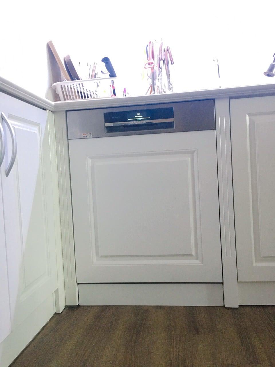 Nhà đẹp thêm SANG nhờ máy rửa bát Bosch âm tủ Smi88ts46e 7