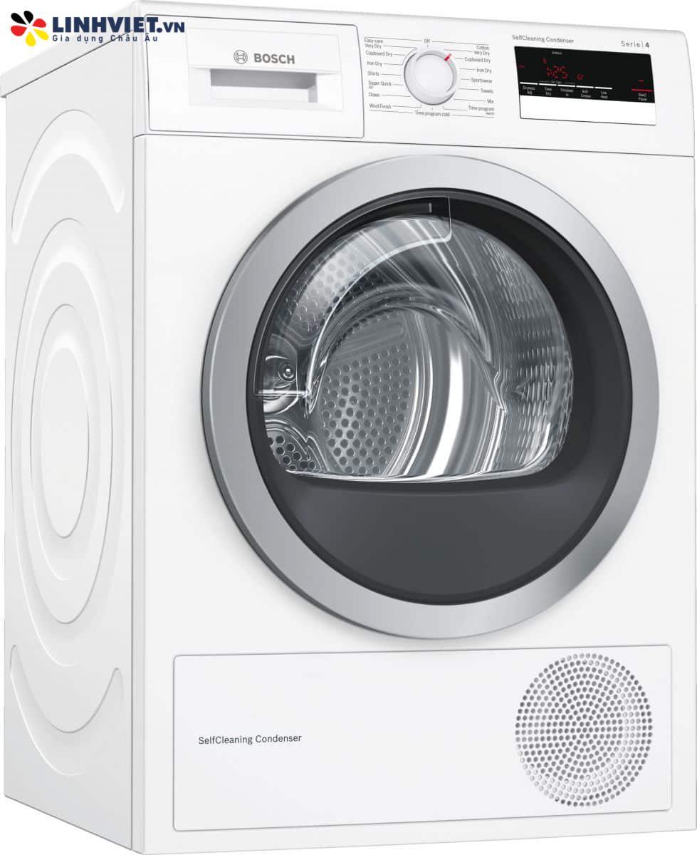 Máy sấy Bosch WTM85260SG – Serie 4 – 9kg – Tụ hơi bơm nhiệt