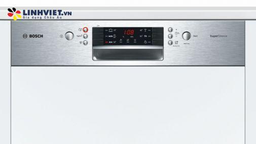 Máy rửa bát âm tủ BOSCH SMI46MS00E|Serie 4