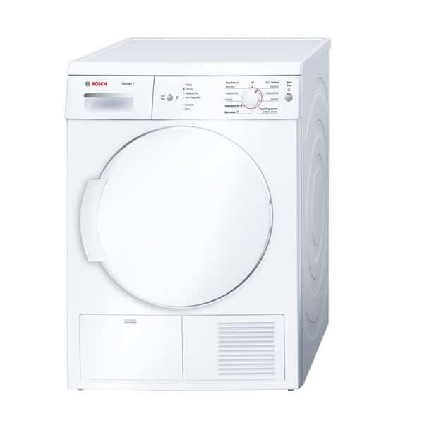 Máy sấy quần áo cửa trước Bosch WTE84105GB