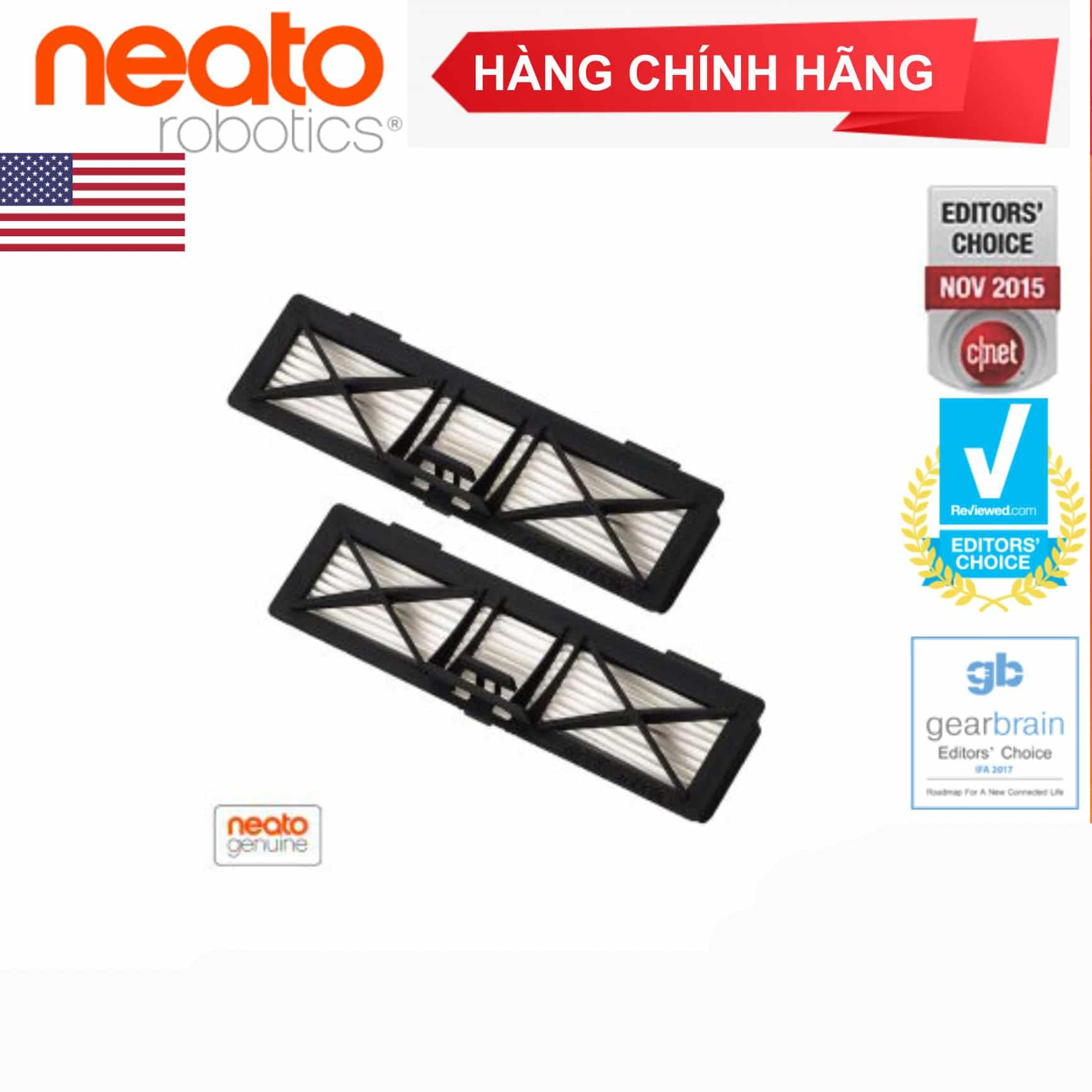 Bộ lọc hiệu suất siêu cao cấp Neato Botvac ™ (2sp/hộp)