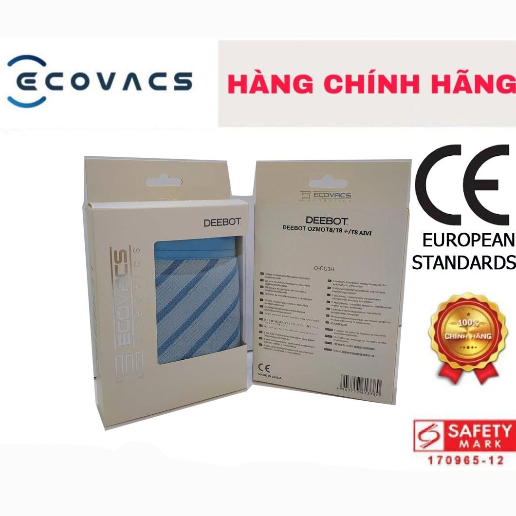 Hộp khăn Ecovacs Deebot OZMO T8 / T8+/ T8 AIVI (3 cái)