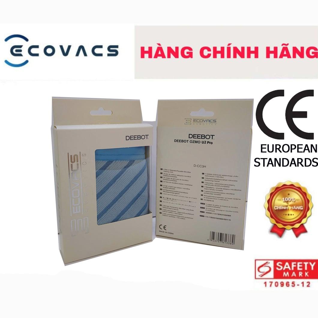 Hộp khăn Ecovacs DEEBOT U2 PRO (3 cái)