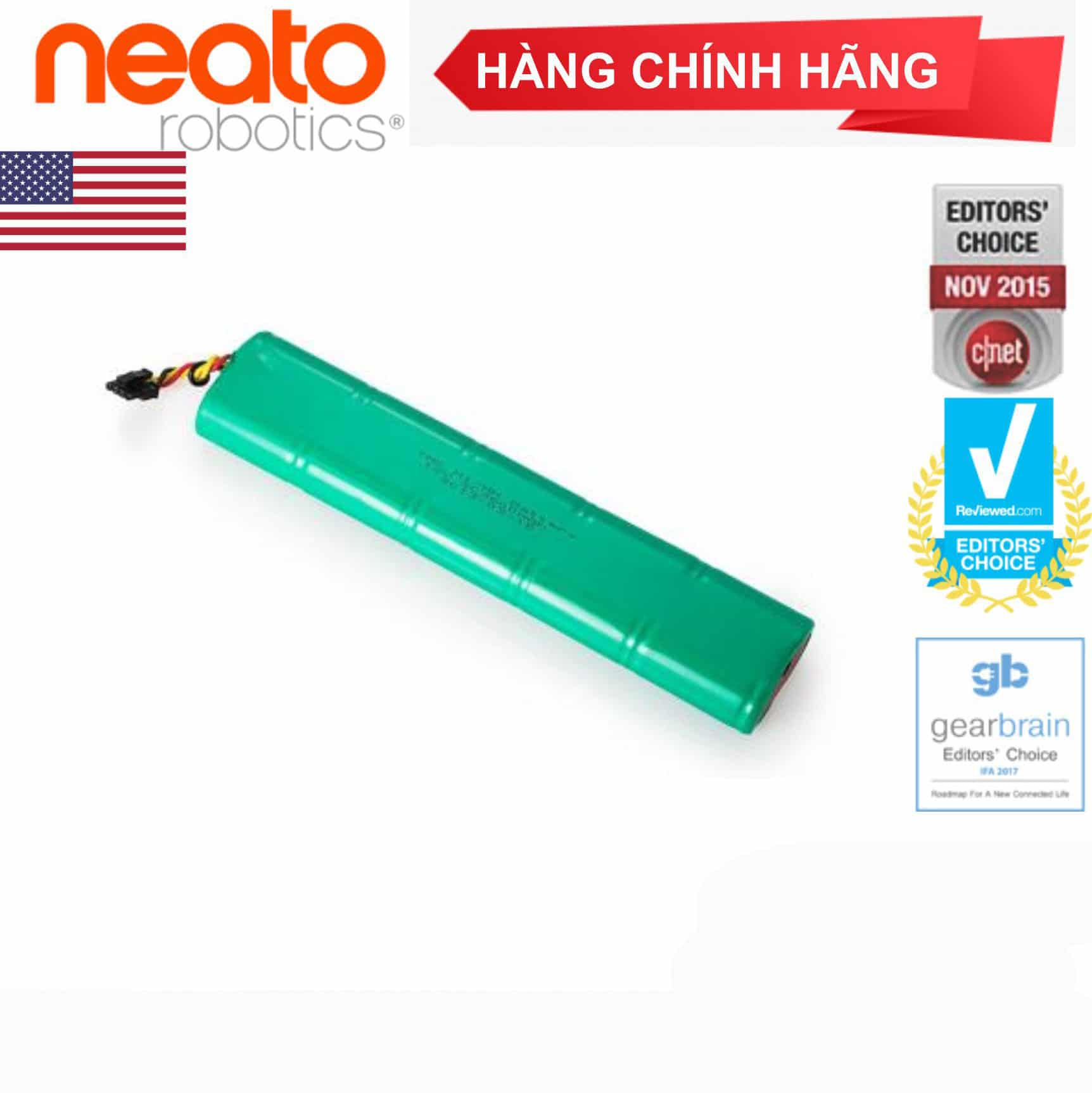 Pin Dung Lượng Cao Neato Botvac™ D Series (Ni-MH, 12V, 3600 mAh)