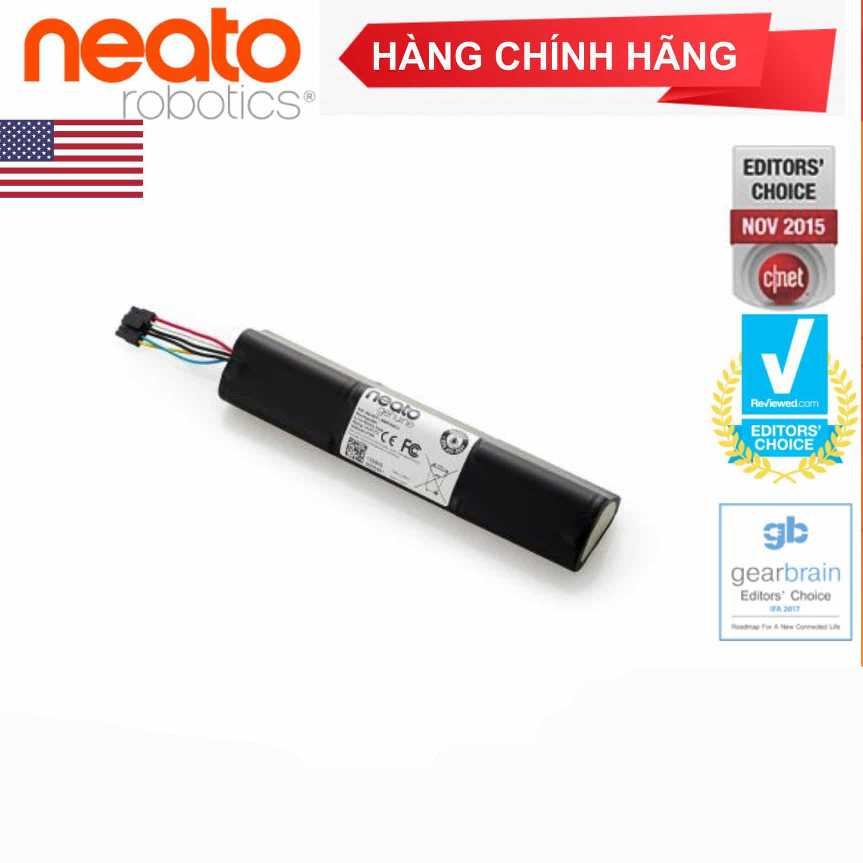 Pin Lithium ion Cho Robot Neato Botvac ™ Connedted