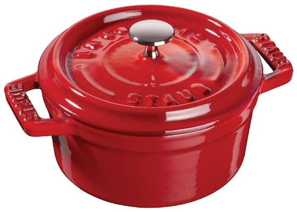 Staub – Nồi tròn màu đỏ cherry – 22cm (11092206-B)