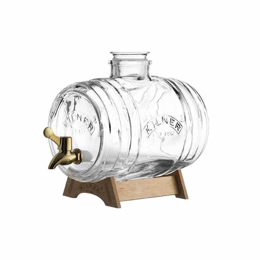 Bình Kilner – Barrel Drinks Dispenser – 3.5L