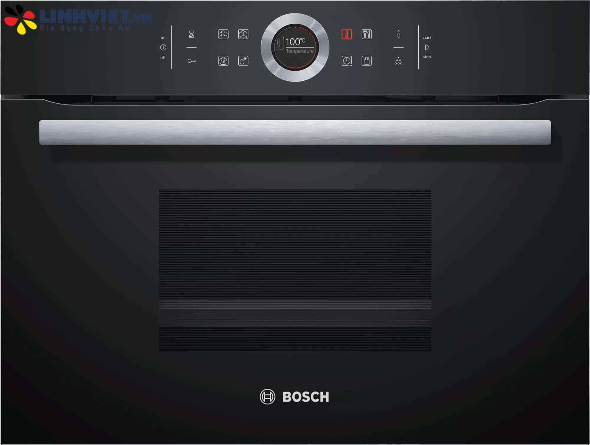 Lò hấp Bosch CDG634AB0 – Serie 8 – 38L