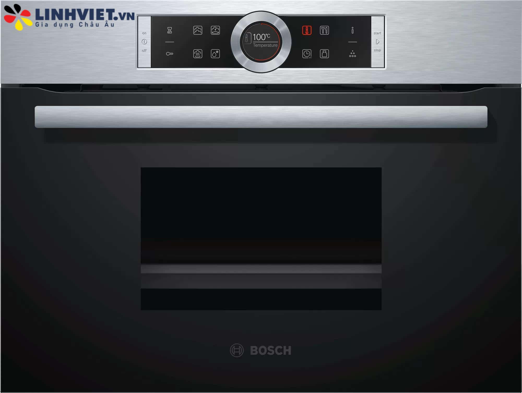 Lò hấp Bosch CDG634AS0 – Serie 8 – 38L