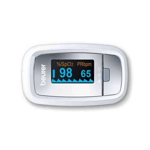 Máy đo nồng độ oxy trong máu (SpO2) và nhịp tim Beurer PO30