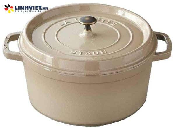 Staub – Nồi tròn màu kem – 26cm (1100926146)