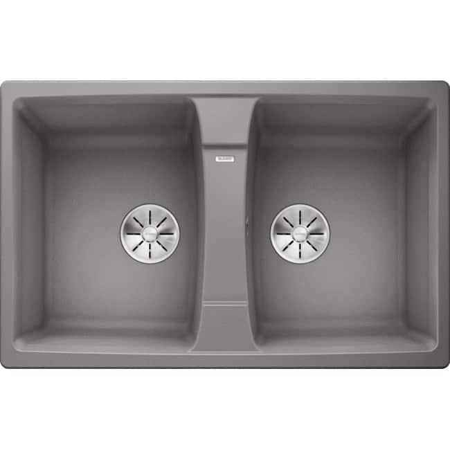 Chậu rửa Blanco Lexa 8 Alu Metalic (Germany)