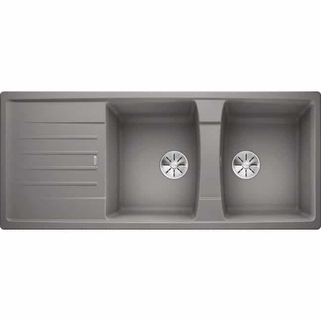 Chậu rửa Blanco Lexa 8S Alu Metalic (Germany)