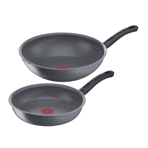 Bộ chảo Tefal Cook Healthy 2pcs (Chảo 24/Chảo xào 28) G134S295