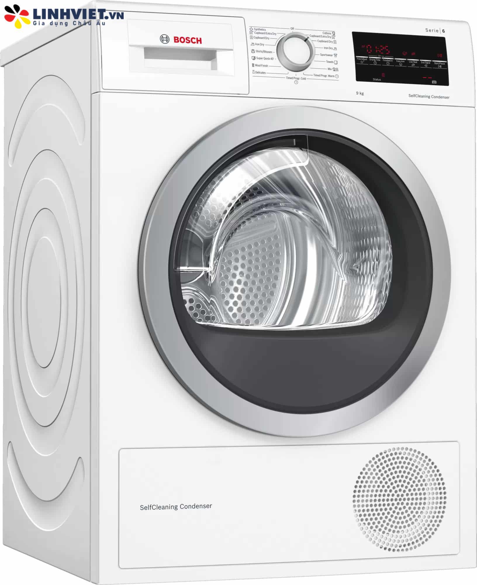 Máy sấy quần áo Bosch WTW85400SG Serie 6