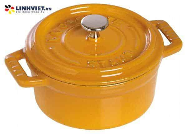 Staub – Nồi tròn màu vàng – 20cm (11092012-B)