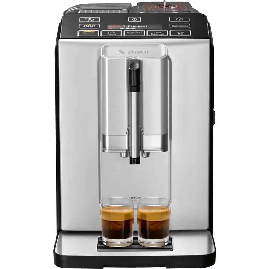 Máy pha cà phê Bosch VeroCup 300 TIS30351DE – Màu bạc