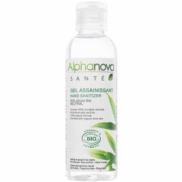 Gel rửa tay khô hữu cơ Alphanova 100ml
