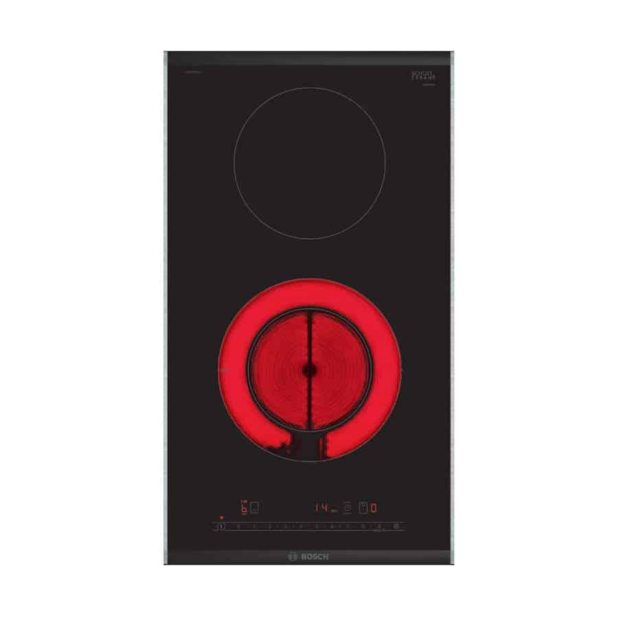 Bếp hồng ngoại Bosch PKF375FP2E – Serie 6 – Domino